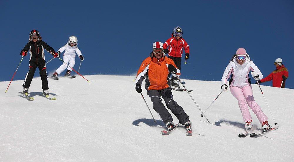 In der Heimat des Wintersports